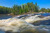 Wenosaga Rapids on the Wenosaga River<br />