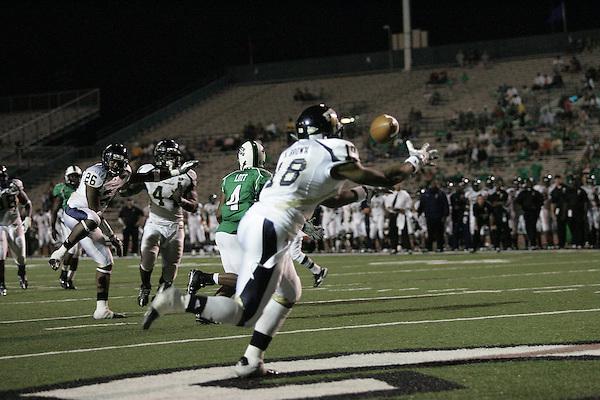 Denton, TEXAS Fouts Field October 4, 2008. University of North Texas Mean Green football v FIU Florida International University. FIU won 42-10. ©2008/Rick Yeatts Photography