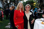 Sybil Danning and her mother.Austrian National Holiday Celebration with General Consul Dr Karin Proidl.Residenz of the Consul.Los Angeles, California.26 October 2009.Photo by Nina Prommer/Milestone Photo