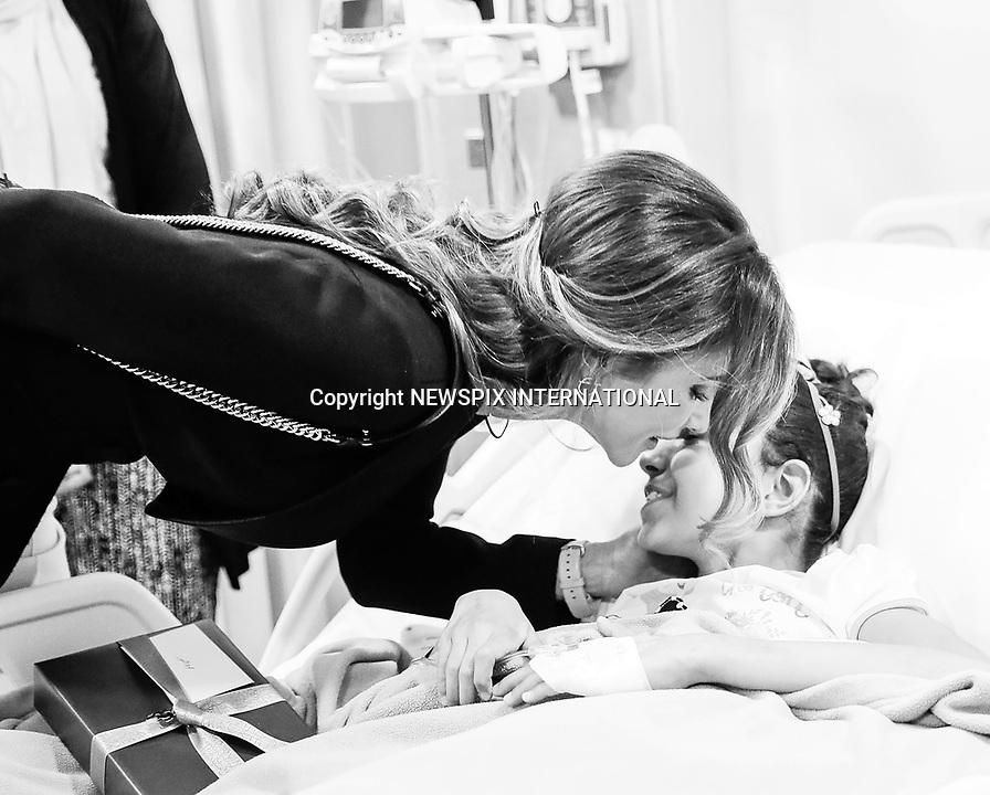 Queen Rania & King Abdullah Visit Cancer Center, Amman