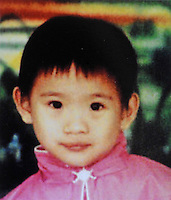 Han Yumin, 5 years old.  Girls in China are increasingly targeted and stolen as there is a shortage of wives as the gender imbalance widens with 120 boys for every 100 girls..PHOTO BY SINOPIX