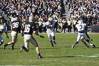 28 October 2006: Derrick Williams (2)..The Penn State Nittany Lions defeated the Purdue Boilermakers 12-0 on October 28, 2006 at Ross-Ade Stadium, West Lafayette, Indiana.