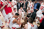 Wisconsin Badgers Head Coach Bo Ryan talks to his team during a time-out during a Big Ten Conference NCAA college basketball game against the Minnesota Golden Gophers on Tuesday, February 28, 2012 in Madison, Wisconsin. The Badgers won 52-45. (Photo by David Stluka)