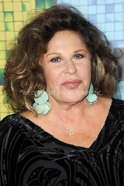 WWW.ACEPIXS.COM<br /> July 18, 2015 New York City<br /> <br /> Lainie Kazan attending the 'Pixels' Premiere at Regal E-Walk on July 18, 2015 in New York City.<br /> <br /> Please byline: Kristin Callahan/ACE <br /> <br /> <br /> Tel: (646) 769 0430<br /> e-mail: info@acepixs.com<br /> web: http://www.acepixs.com