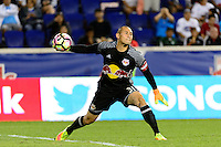 Harrison, NJ - Thursday Sept. 15, 2016: Luis Robles during a CONCACAF Champions League match between the New York Red Bulls and Alianza FC at Red Bull Arena.