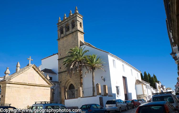 Historic church Iglesia de Nuestro Padre Jesus, Ronda, Spain