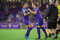 Orlando, FL - Saturday June 03, 2017: Monica, Maddy Evans during a regular season National Women's Soccer League (NWSL) match between the Orlando Pride and the Boston Breakers at Orlando City Stadium.