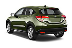 Car pictures of rear three quarter view of a 2016 Honda HR-V EX 5 Door Suv Angular Rear
