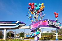 Disneyland Resort Entrance, Anaheim California