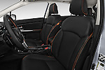 Front seat view of 2016 Subaru Crosstrek Hybrid-Touring 5 Door SUV Front Seat  car photos