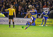 2nd February 2019, Halliwell Jones Stadium, Warrington, England; Betfred Super League rugby, Warrington Wolves versus Leeds Rhinos; Stefan Ratchford coverts try number four