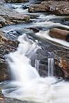 Cascading Waterfall at Pollards Mill