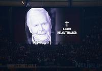 Fussball International  WM Qualifikation 2014   16.10.2012 Deutschland - Schweden Trauer um Helmut Haller