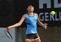 August 6, 2014, Netherlands, Rotterdam, TV Victoria, Tennis, National Junior Championships, NJK,  Demi Tran (NED)<br /> Photo: Tennisimages/Henk Koster