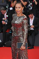 "VENICE, ITALY - AUGUST 28: Melanie Janine Brown walks the red carpet ahead of the Opening Ceremony and the ""La Verite"" (The Truth) screening during the 76th Venice Film Festival at Sala Grande on August 28, 2019 in Venice, Italy., 2019 in Venice, Italy. (Photo by Marck Cape/Inside Foto)<br /> Venezia 28/08/2019"