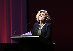 Debra Monk during the Celebrate the Life of Marin Mazzie Memorial Service at the Gershwin Theatre on October 25, 2018 in New York City.