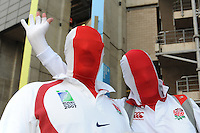 England fans enjoying the pre-match atmosphere before Match 26 of the Rugby World Cup 2015 between England and Australia - 03/10/2015 - Twickenham Stadium, London<br /> Mandatory Credit: Rob Munro/Stewart Communications
