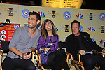 Days Of Our Lives National Tour - Blake Berris, Lauren Koslow and Drake Hogestyn on September 23, 2012 at The Shops at Mohegan Sun, Uncasville, Connecticut. (Photo by Sue Coflin/Max Photos)