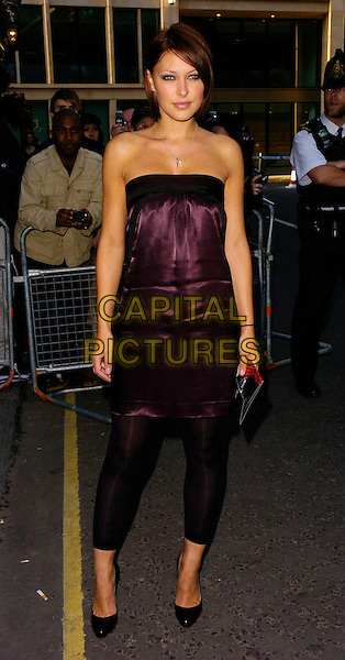 EMMA GRIFFITHS.The Kerrang Awards, The Brewery, London, UK..August 24th, 2006.Ref: CAN.full length leggings purple satin strapless top.www.capitalpictures.com.sales@capitalpictures.com.©Can Nguyen/Capital Pictures