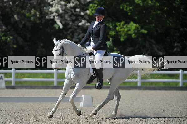 Class 7. Unaffiliated dressage. Brook Farm training centre. Essex. 19/05/2018. ~ MANDATORY Credit Garry Bowden/Sportinpictures - NO UNAUTHORISED USE - 07837 394578