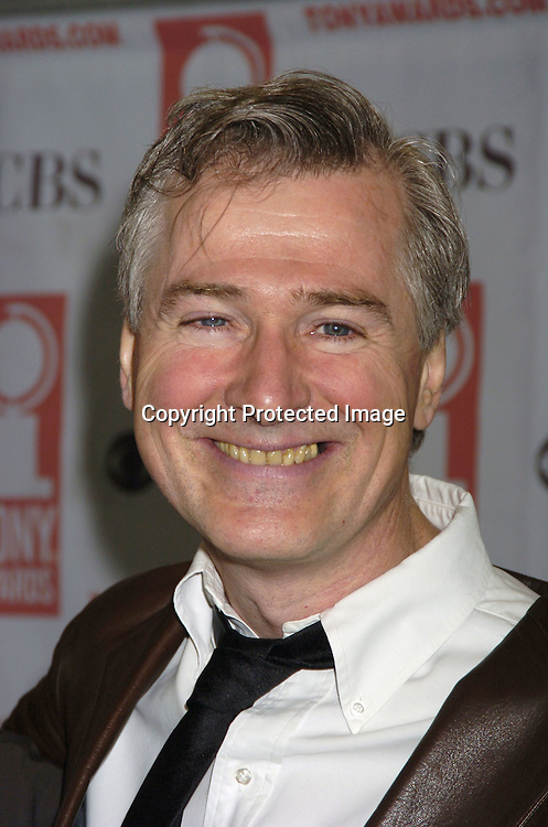 John Patrick Shanley..at The 2005 Tony Awards Nominees Meet the Press Reception on May 11, 2005 at The Marriott Marquis Hotel. ..Photo by Robin Platzer, Twin Images