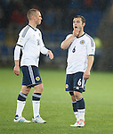 Dejection from Kenny Miller and Shaun Maloney