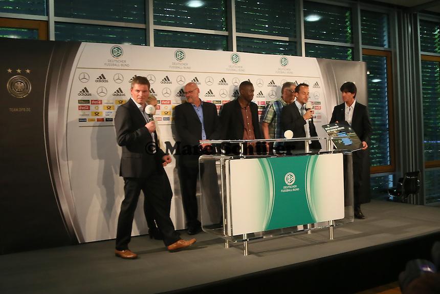 """Aktion """"Wir stehen an Eurer Seite"""" - DFB Kadernominierung für die WM 2014"""