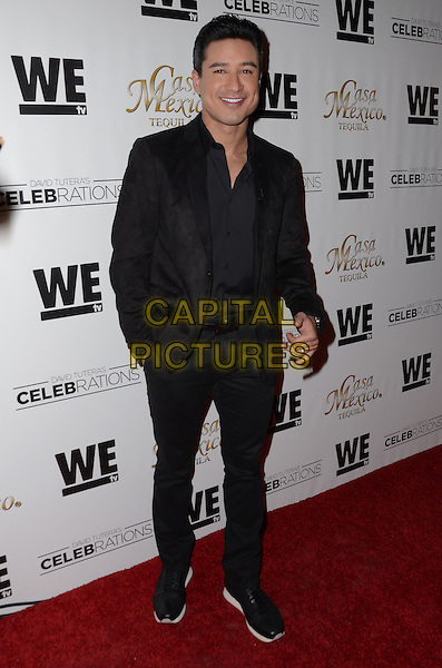 05 November - Hollywood, Ca - Mario Lopez. Mario Lopez Introduces Casa Mexico Tequila On WE tv's David Tutera CELEBrations held Beso Restaurant . <br /> CAP/ADM/BT<br /> &copy;BT/ADM/Capital Pictures