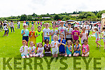 Children from Scoil Mháthair Dé Abbeyfeale cooling down with an Ice Cream during  their Sports Day in Abbeyfeale Rugby Club grounds last Friday.