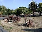 Farm equipment at Garin Regional Park