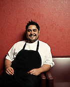 Chef Oscar Diaz, Jibarra, Raleigh, N.C., Thursday, September 22, 2011.