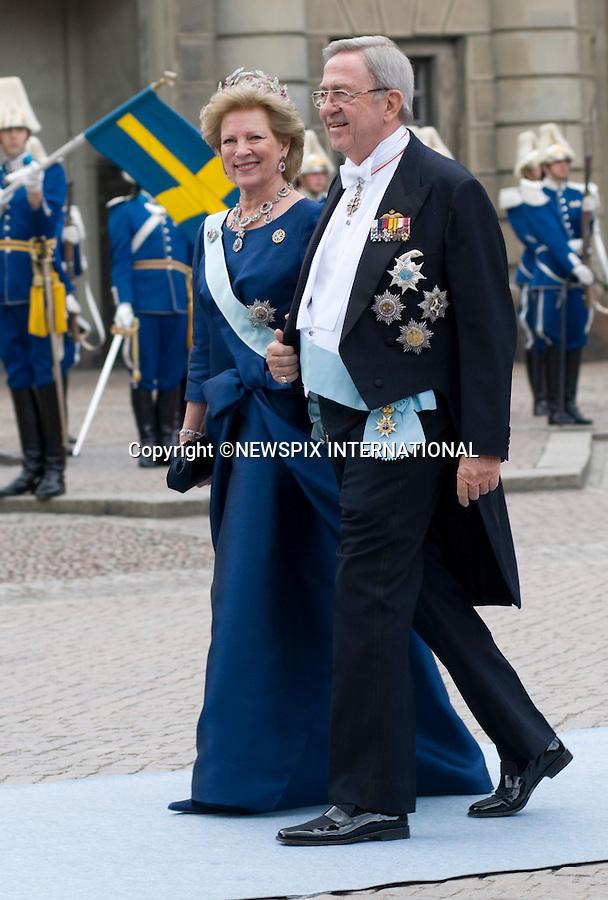 "PRINCESS VICTORIA AND DANIEL WESTLING WEDDING.Royal Guests at the wedding  Stockholm_19/062010.Mandatory Credit Photo: ©DIAS-NEWSPIX INTERNATIONAL..**ALL FEES PAYABLE TO: ""NEWSPIX INTERNATIONAL""**..IMMEDIATE CONFIRMATION OF USAGE REQUIRED:.Newspix International, 31 Chinnery Hill, Bishop's Stortford, ENGLAND CM23 3PS.Tel:+441279 324672  ; Fax: +441279656877.Mobile:  07775681153.e-mail: info@newspixinternational.co.uk"