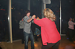Zack Conroy has fun dancing - Guiding Light's actors at a private dinner on top of Mount Washington, near Pittsburgh, PA on the night before October 1, 2009 in the Pittsburgh, PA area as the actors GO PINK with Panera Bread as they visit many of the Panera Bread locations the next day. Proceeds from pink ribbon bagel sales will benefit the Young Women's Breast Cancer Awareness Foundation. (Photo by Sue Coflin/Max Photos)