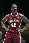 17 December 2014: Oklahoma's Kaylon Williams. The Duke University Blue Devils hosted the University of Oklahoma Sooners at Cameron Indoor Stadium in Durham, North Carolina in a 2014-15 NCAA Division I Women's Basketball game. Duke won the game 92-72.