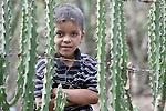 A boy in El Bonete, a small village in northwestern Nicaragua.