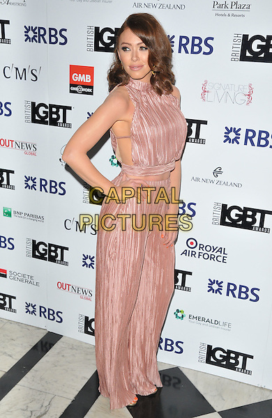 Natasha Hamilton at the British LGBT Awards 2016, Grand Connaught Rooms, Great Queen Street, London, England, UK, on Friday 13 May 2016.<br /> CAP/CAN<br /> &copy;Can Nguyen/Capital Pictures