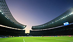 30.11.2019, OLympiastadion, Berlin, GER, DFL, 1.FBL, Hertha BSC VS. Borussia Dortmund, <br /> DFL  regulations prohibit any use of photographs as image sequences and/or quasi-video<br /> im Bild Olympiastadion -Innenansicht<br /> <br />       <br /> Foto © nordphoto / Engler