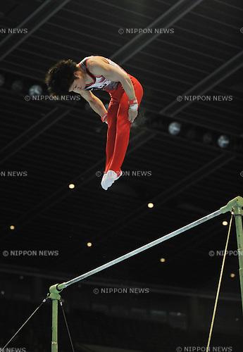 Kohei Uchimura (JPN), JULY 2nd, 2011 - Artistic Gymnastics : JAPAN CUP 2011, Men's Team competition at Tokyo Metropolitan gymnasium, Tokyo, Japan. .(Photo by Atsushi Tomura/AFLO SPORT) [1035].