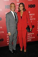 www.acepixs.com<br /> April 18, 2017  New York City<br /> <br /> Al Sharpton and Aisha McShaw attending 'The Immortal Life of Henrietta Lacks' premiere at SVA Theater on April 18, 2017 in New York City.<br /> <br /> Credit: Kristin Callahan/ACE Pictures<br /> <br /> <br /> Tel: 646 769 0430<br /> Email: info@acepixs.com