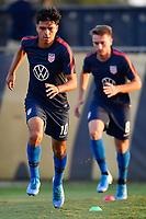 Miami, FL - Tuesday, October 15, 2019:  Alex Mendez #10 during a friendly match between the USMNT U-23 and El Salvador at FIU Soccer Stadium.