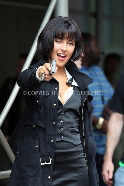 WWW.ACEPIXS.COM . . . . .  ....September 23 2009, New York City....Actress Tess Kartel on the midtown Manhattan set of the new movie 'The Other Guys' on September 23 2009 in New York City....Please byline: AJ Sokalner - ACEPIXS.COM..... *** ***..Ace Pictures, Inc:  ..tel: (212) 243 8787..e-mail: info@acepixs.com..web: http://www.acepixs.com