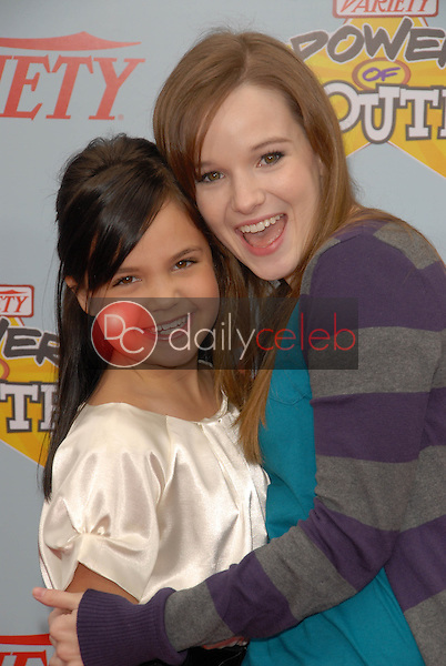 """Bailee Madison and Kay Panabaker<br /> at Variety's 3rd Annual """"Power of Youth,"""" Paramount Studios, Hollywood, CA. 12-05-09<br /> David Edwards/DailyCeleb.com 818-249-4998"""