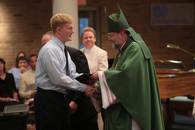Bishop Daniel Jenky, C.S.C. at the ECHO graduation mass