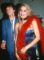 Mick Jagger Jerry Hall 1992<br /> Photo By Adam Scull/PHOTOlink.net