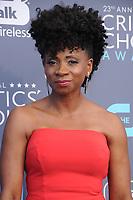 11 January 2018 - Santa Monica, California - Elisa Perry. 23rd Annual Critics' Choice Awards held at Barker Hangar. <br /> CAP/ADM/BT<br /> &copy;BT/ADM/Capital Pictures