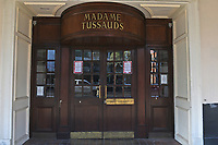 A view of Madame Tussauds. The deserted streets show the severe effects of the COVID-19 epidemic on London on 23rd March 2020
