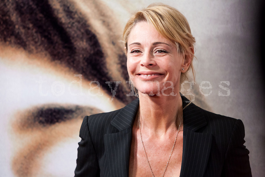 Belen Rueda attending the opening of the movie Volver a Nacer in Madrid.