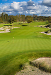 WASSENAAR  (NETH.) -  hole 3. Golfclub Groendael in Wassenaar. COPYRIGHT KOEN SUYK