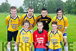 Ballotelli Tubbies team who competed in the Castleisland Garda soccer blitz  on Wednesday front row l-r: Lee O'Connor, Brian daly, jamie Fleming. Back row: Matthew Broderick, Ethan Brosnan, Conor Sheehan and Danny Browne