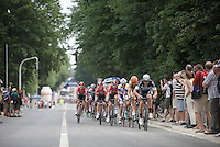In the very first (of 14) laps a breakaway group of 25 riders is formed. In that group the eventual winner (and runner-up) are already there and they will stay ahead in the +240km ahead.<br /> <br /> Belgian Championships 2015